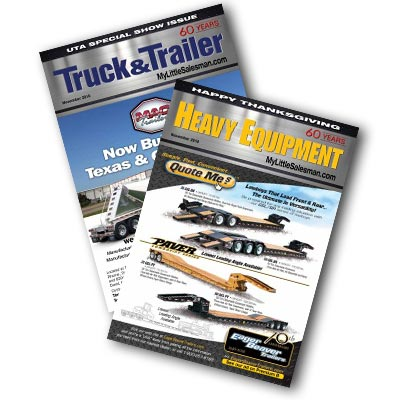 Truck & Trailer and Heavy Equipment Print Editions